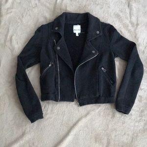 Gently Used Cotton Moto Jacket UO Sz Small